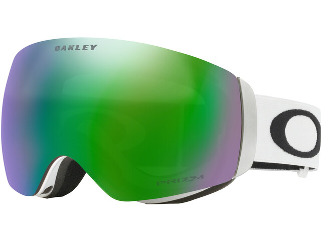Oakley Flight Deck XM Lunettes de protection Femme, matte white/w prizm jade iridium